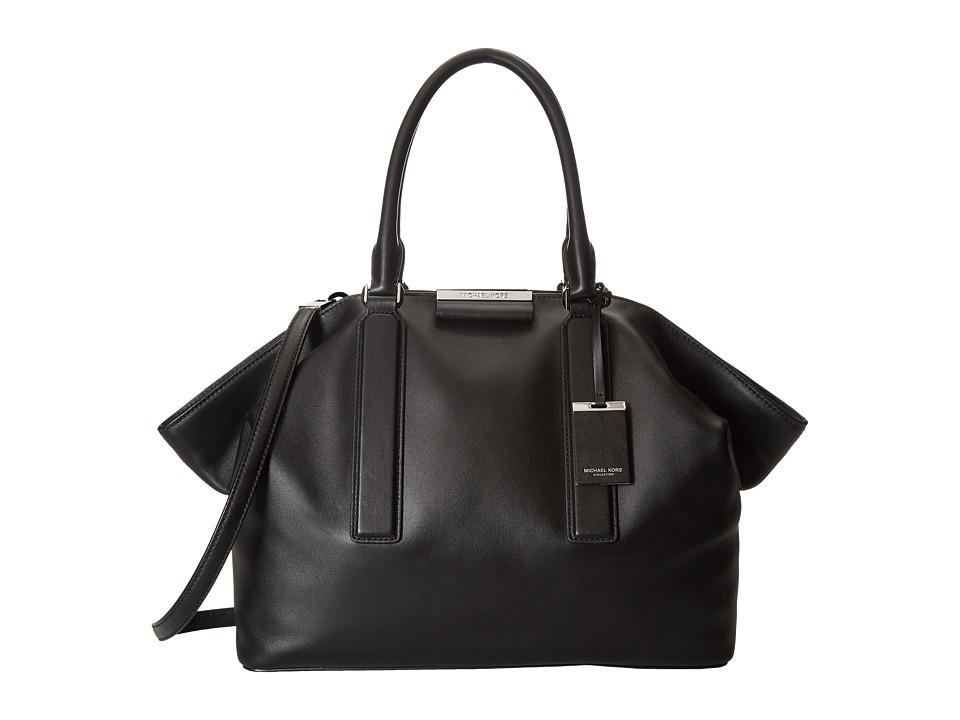 Michael Kors - Lexi Large East/West Satchel (Black) Satchel Handbags