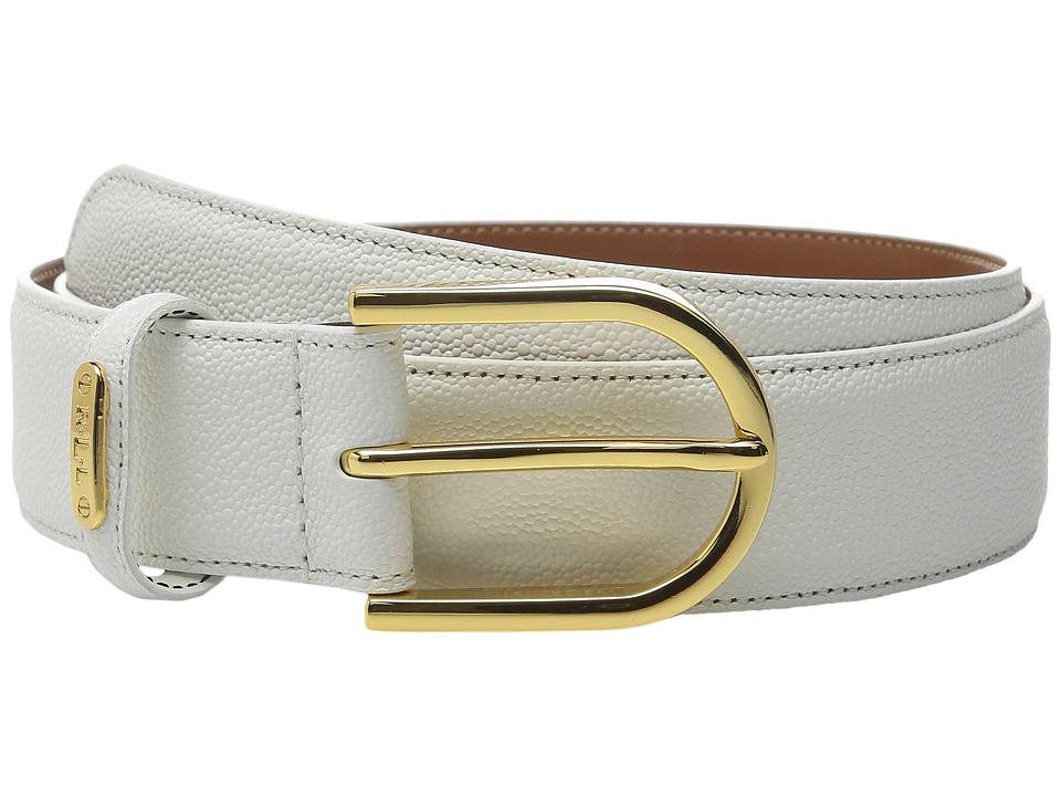 LAUREN Ralph Lauren - Lauren Classics 1 3/8 Stingray Sculpted C Buckle (Gold Rush) Women's Belts