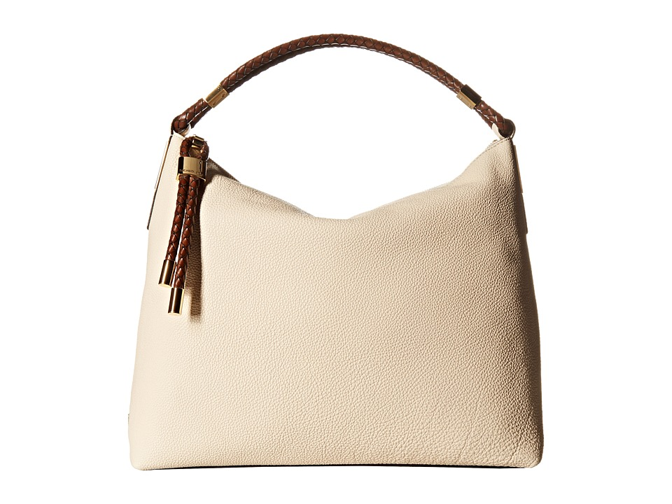 Michael Kors - Skorpios Top Zip Shoulder (Vanilla) Shoulder Handbags
