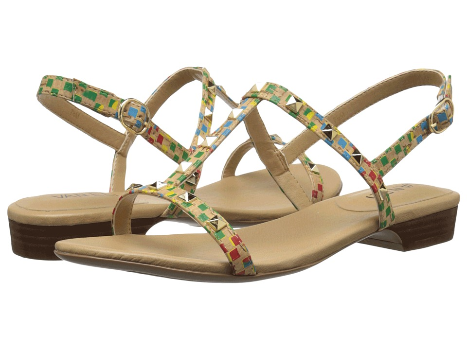 Vaneli - Baina (Natural/Multi Spiral Cork) Women's Sandals