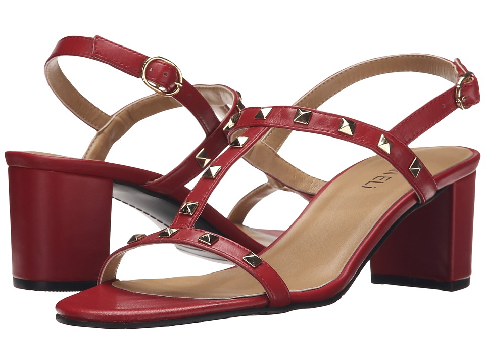 Vaneli - Mandy (Red Ecco Nappa) High Heels