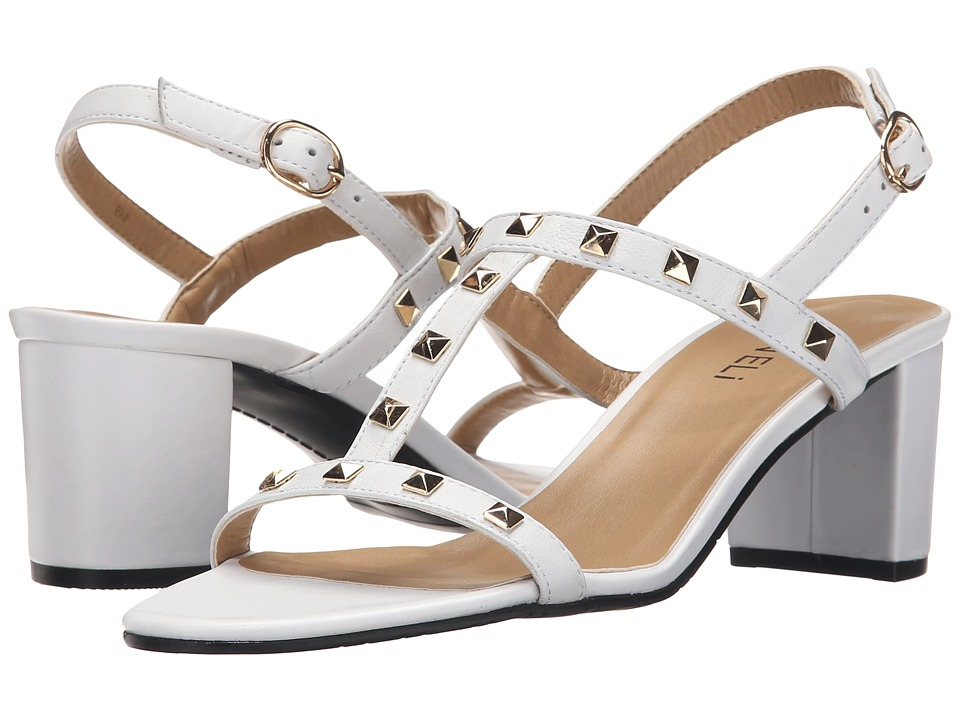 Vaneli - Mandy (White Ecco Nappa) High Heels