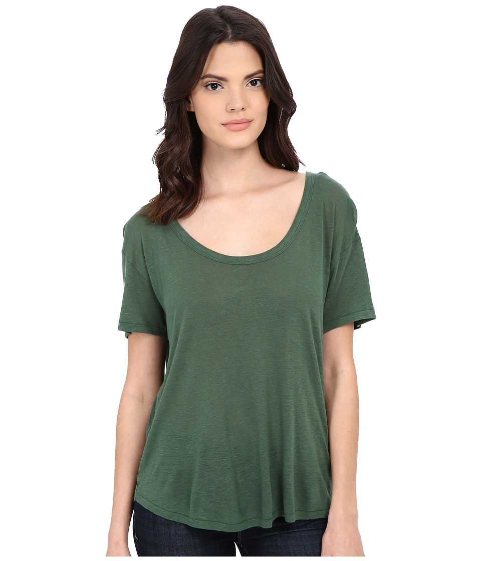 Free People - Gemma Tee (Cucumber) Women