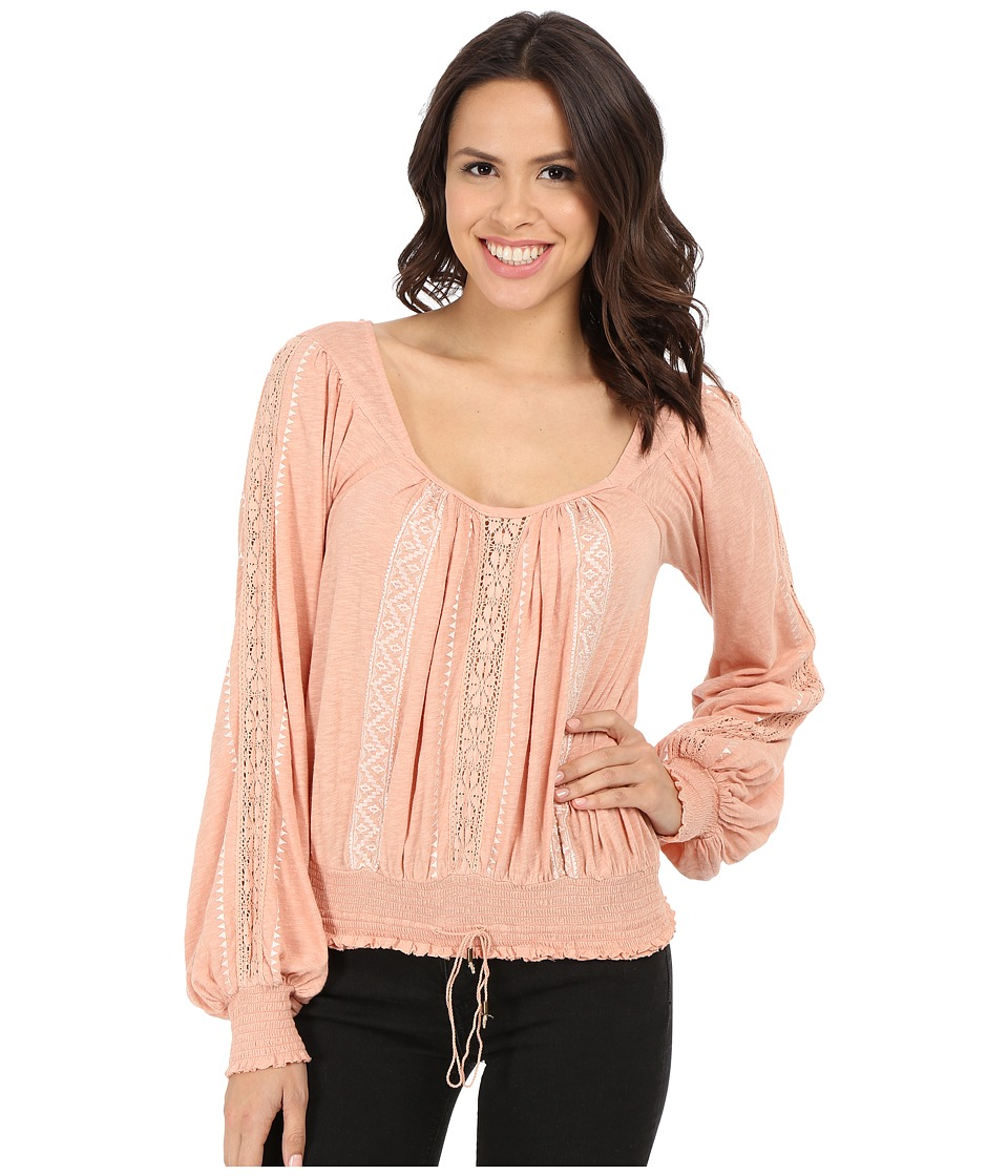 Free People - Silverlake Top (Peach) Women