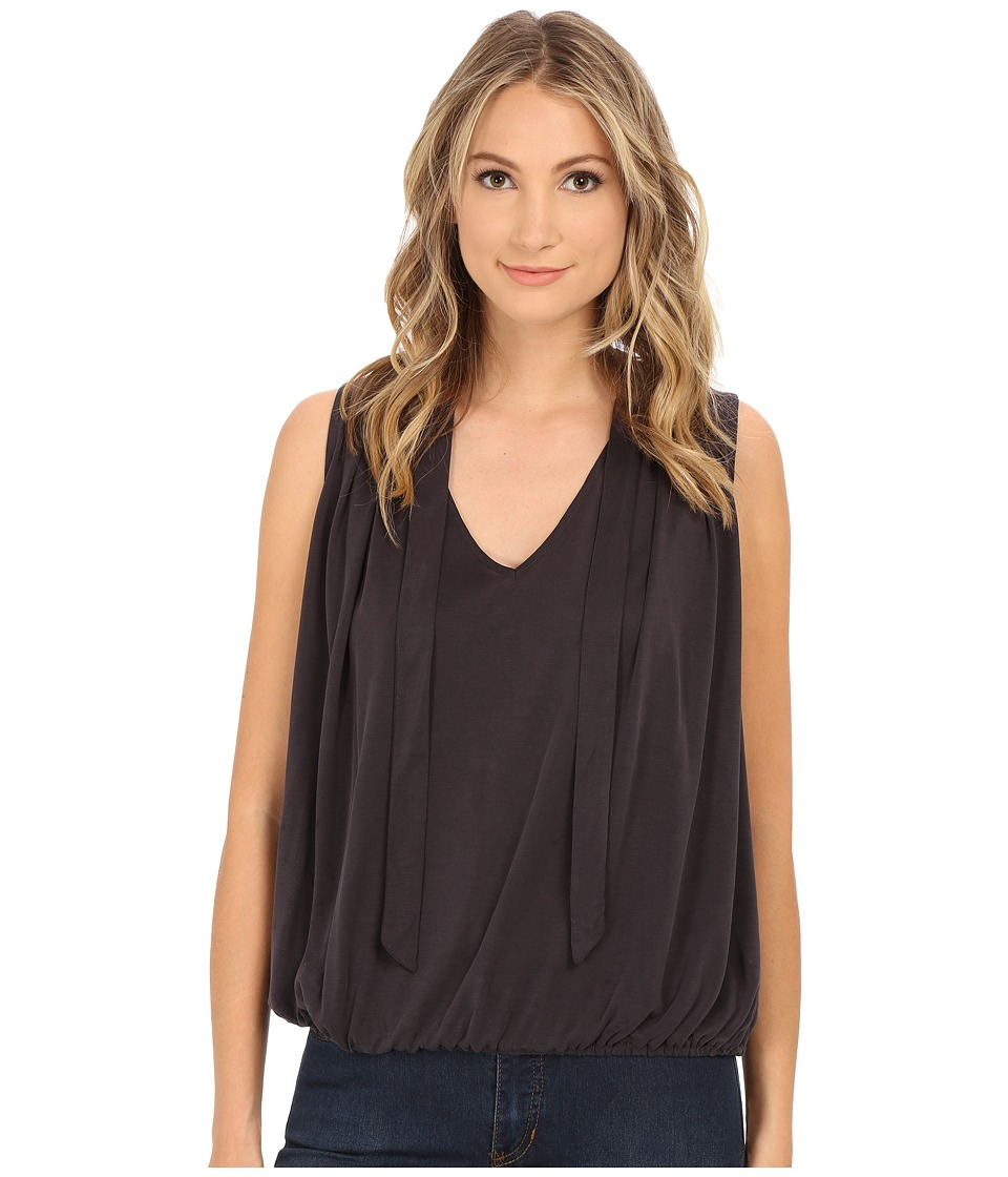 Free People - Forget Me Not Tank Top (Washed Black) Women's Sleeveless