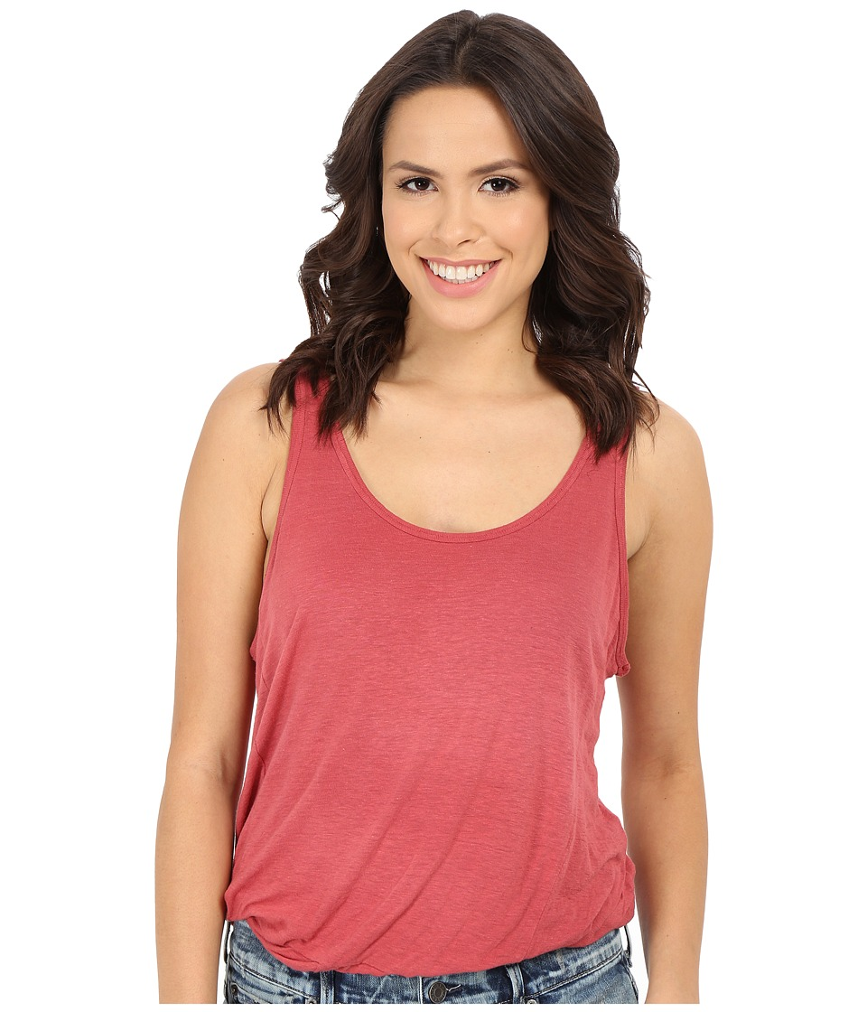 Free People - Double Bubble Top (Washed Red) Women's Sleeveless