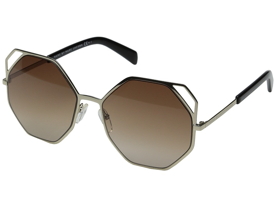 Marc by Marc Jacobs - MMJ 479/S (Gold/Brown Gradient) Fashion Sunglasses