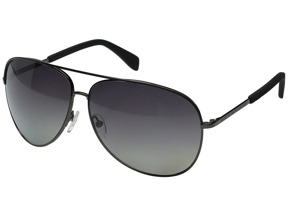 Marc by Marc Jacobs - MMJ 484/S (Black Ruthenium/Gradient Shade Polarized) Fashion Sunglasses