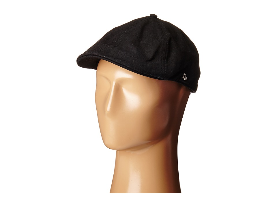 New Era - Canvas Duckbill (Black) Caps