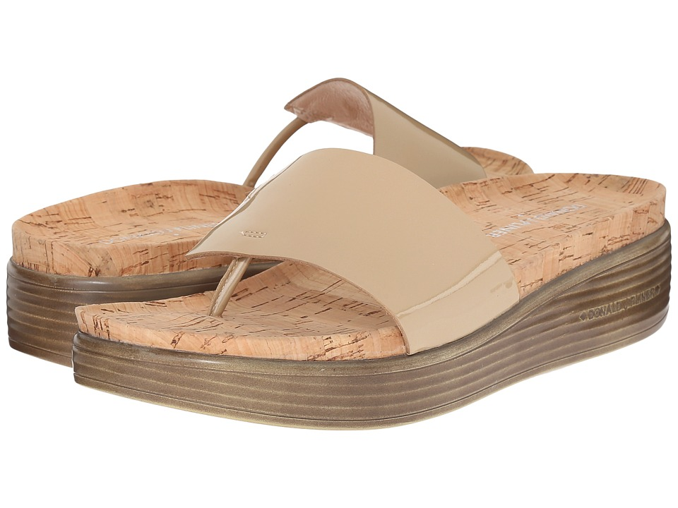 Donald J Pliner - Fifi 17 (Sand Patent) Women's Slide Shoes