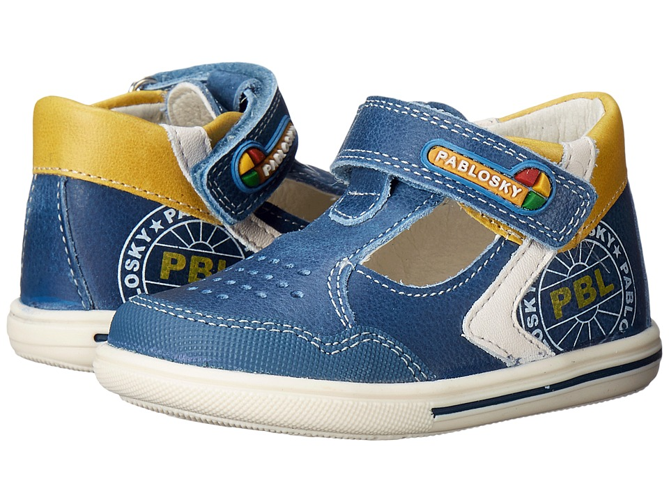 Pablosky Kids - 0751 (Infant/Toddler) (Cobalt) Boy's Shoes