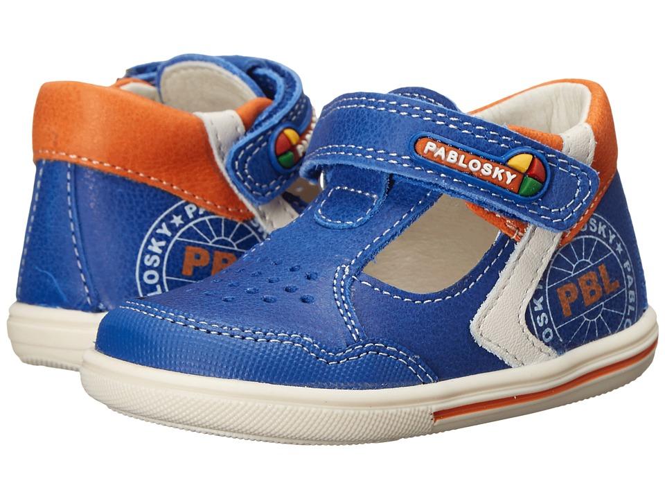 Pablosky Kids - 0751 (Infant/Toddler) (Blue) Boy's Shoes