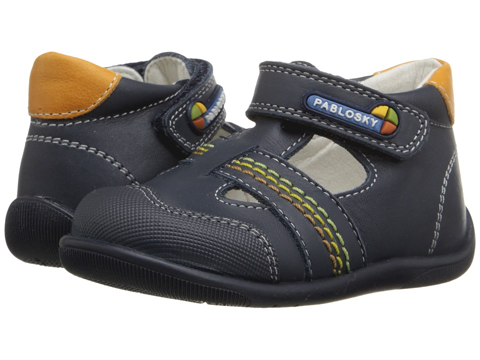 Pablosky Kids - 0752 (Infant/Toddler) (Navy) Boys Shoes