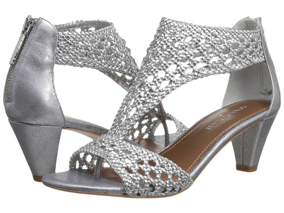 Donald J Pliner - Verona (Silver Woven Metallic) Women's Sandals