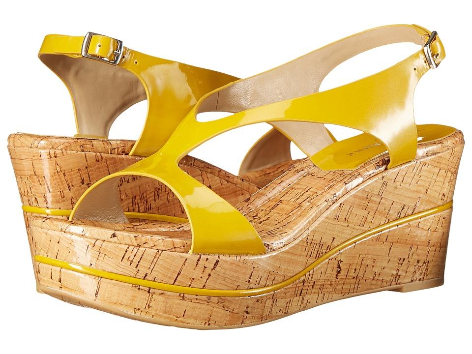Donald J Pliner - Delon 2 (Yellow) Women's Wedge Shoes