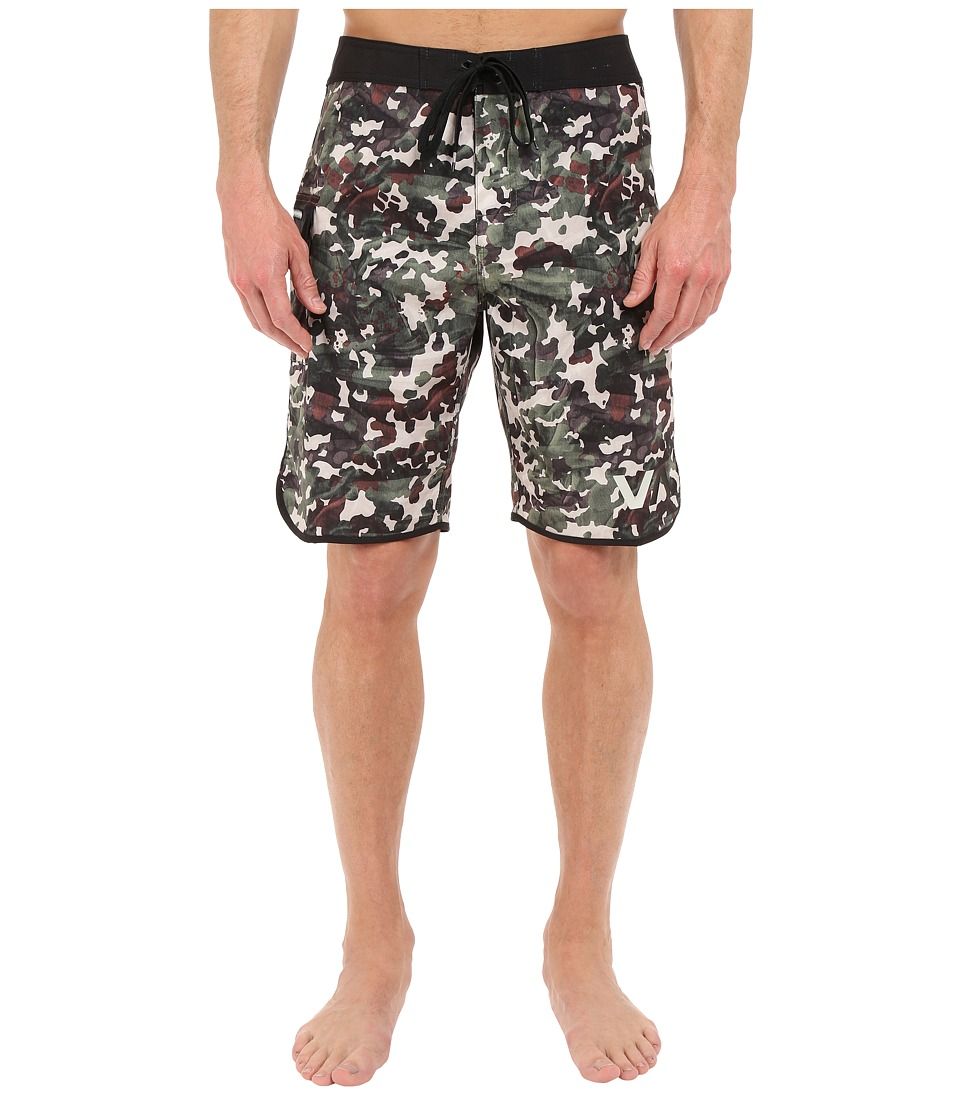 RVCA - Barca Trunk (Camo) Men's Swimwear