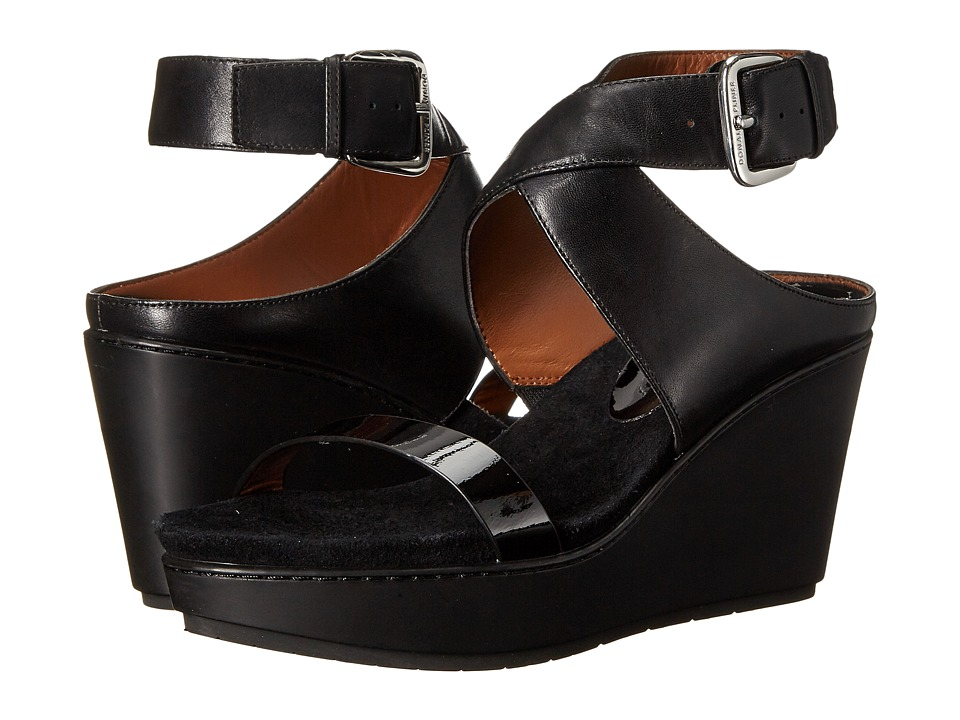 Donald J Pliner Jaden (Black Calf/Patent) Women