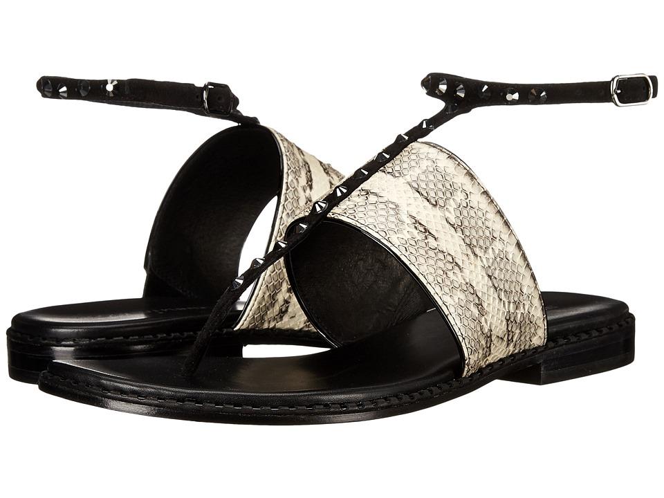 Donald J Pliner - Lacysp (Bone/Black) Women's Sandals