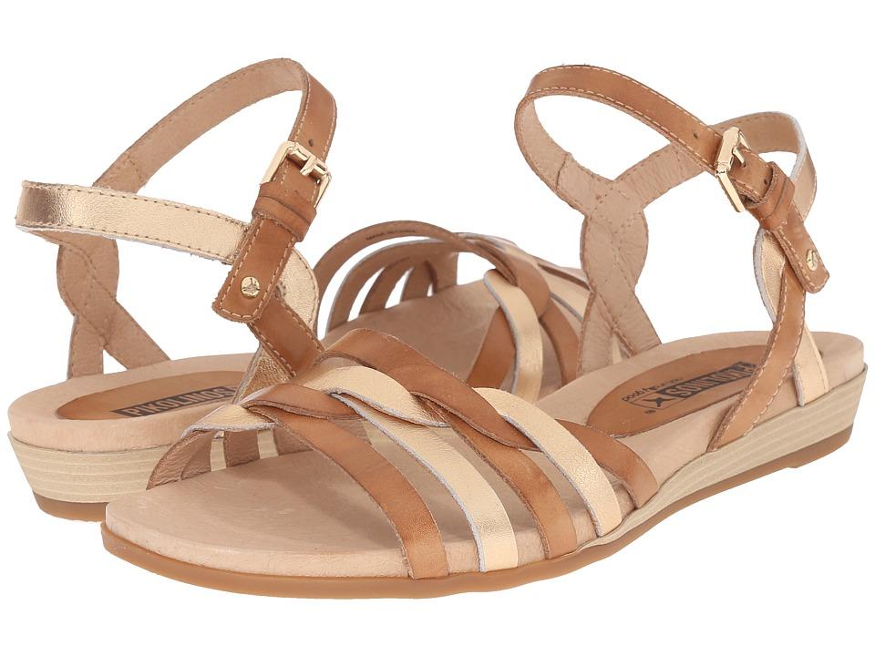 Pikolinos - Alcudia 816-0662C1 (Nude/Golden Pink) Women's Sandals