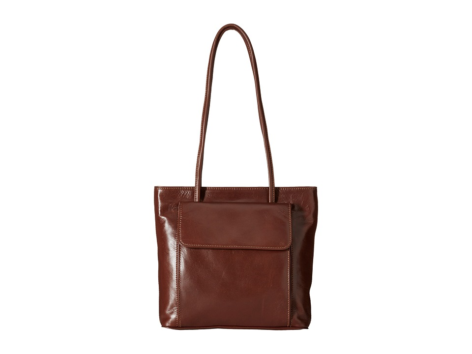 Scully - Hidesign Every Day Ease Tote (Tan) Tote Handbags