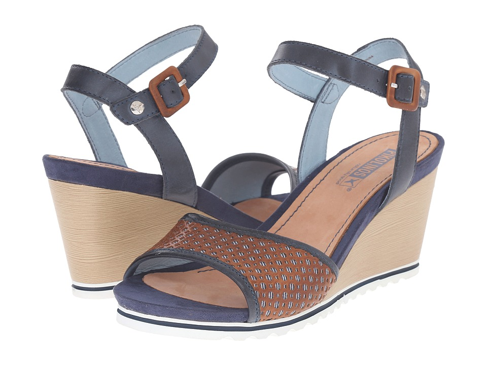 Pikolinos - Bali W7F-0680 (Brandy/Ocean) Women's Shoes