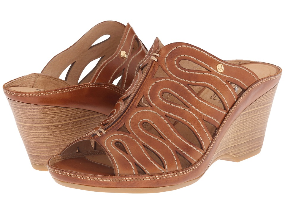 Pikolinos - Capri W8F-0725 (Brandy/Brandy) Women's Slide Shoes