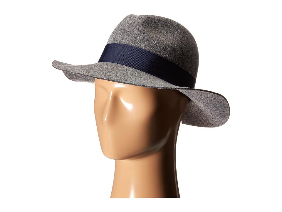 Karen Kane - Wide Brim Fedora (Slate Mix) Fedora Hats