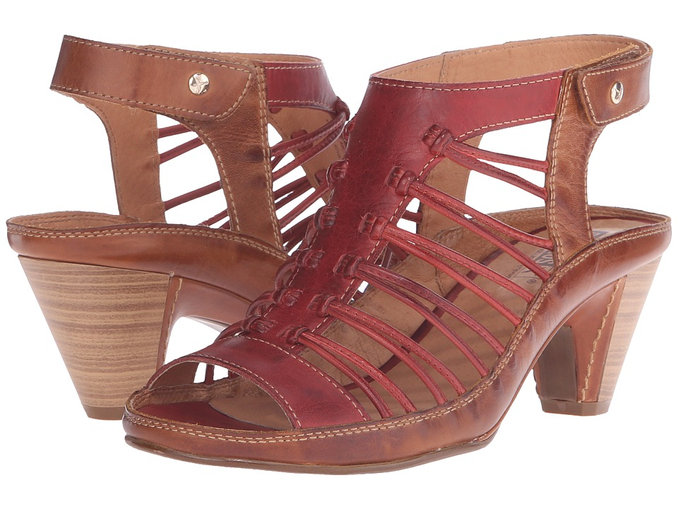 Pikolinos Java W5A-0728 (Sandia/Brandy) High Heels