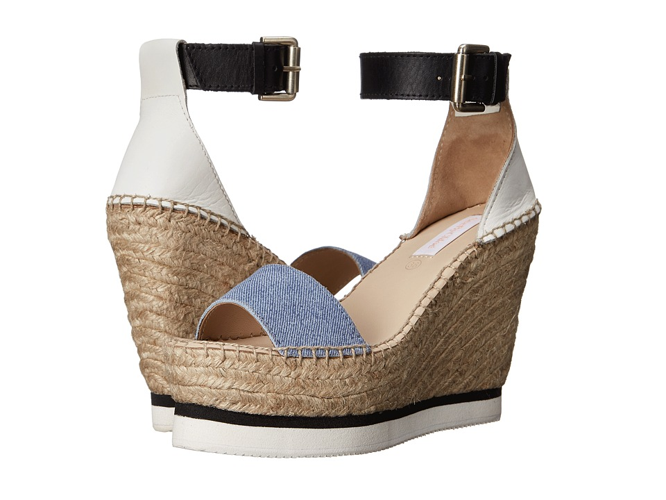 See by Chloe - SB26152 (Denim) Women's Wedge Shoes