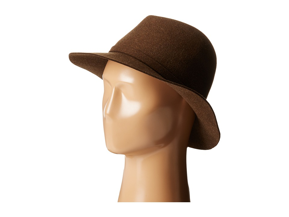 Karen Kane - Raw Edge Trilby (Nu Olive Mix) Caps