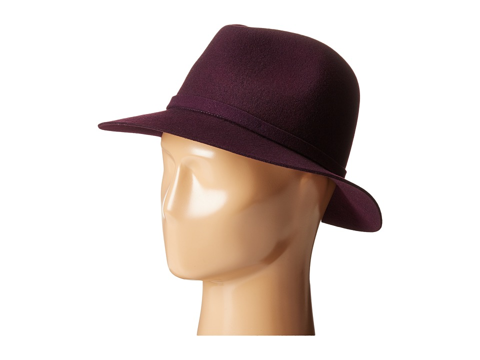 Karen Kane - Raw Edge Trilby (Plum) Caps