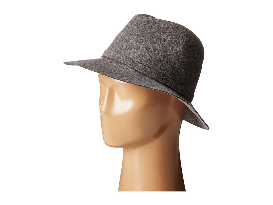 Karen Kane - Raw Edge Trilby (Slate Mix) Caps