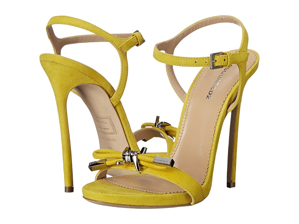DSQUARED2 Sandal (Giallo Camoscio) High Heels