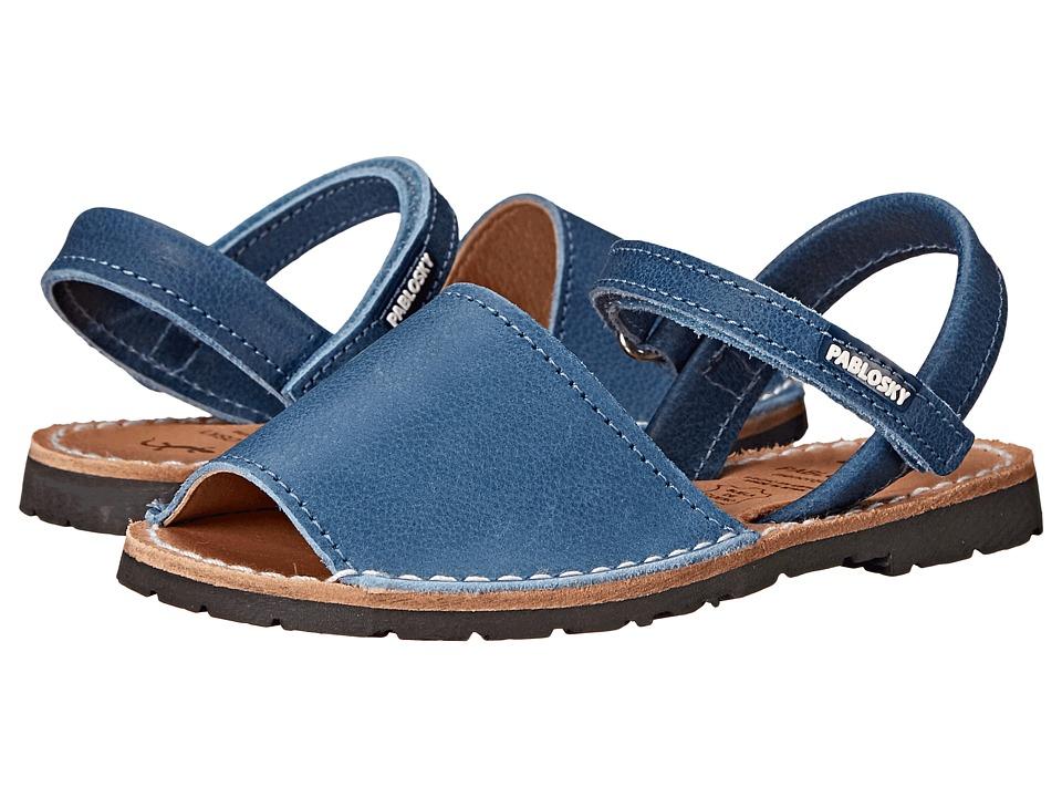 Pablosky Kids - 1089 (Toddler/Little Kid) (Blue) Kid's Shoes