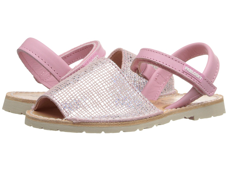 Pablosky Kids - 1090 (Toddler/Little Kid) (Pink) Girl's Shoes