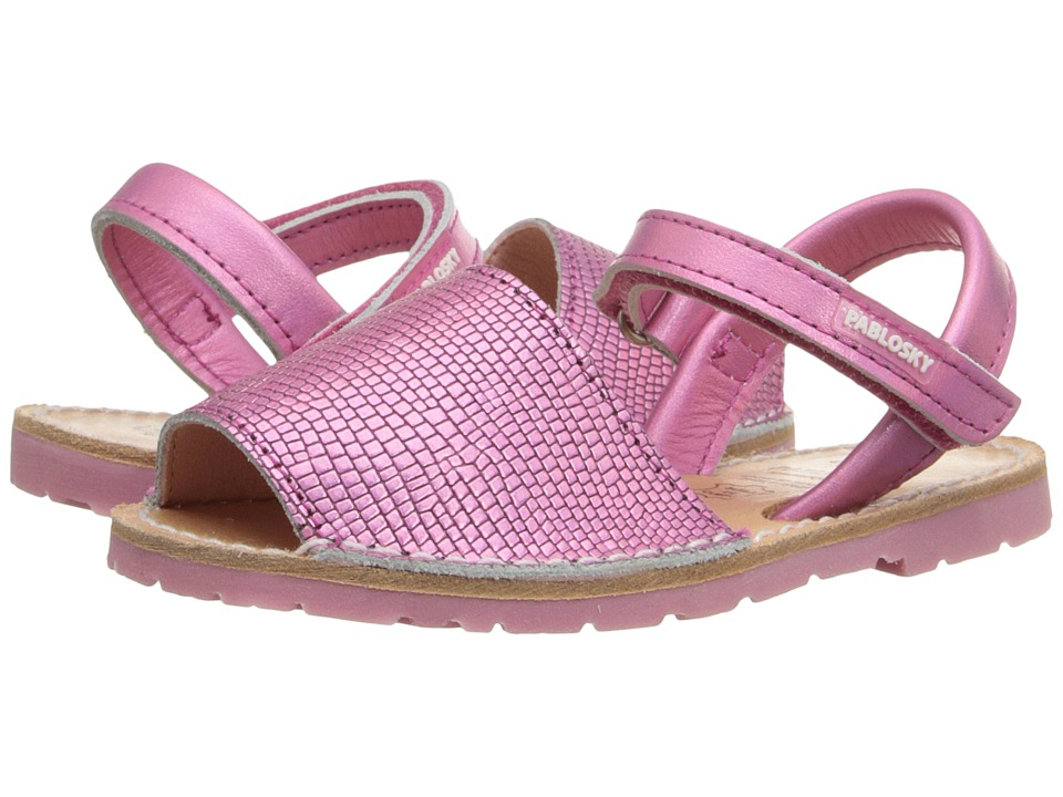 Pablosky Kids - 1092 (Toddler/Little Kid) (Pink) Girl's Shoes