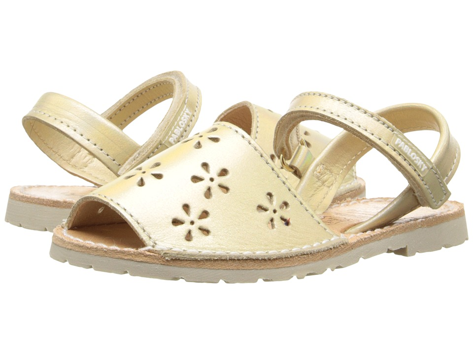 Pablosky Kids - 1094 (Toddler/Little Kid) (Gold) Girl's Shoes