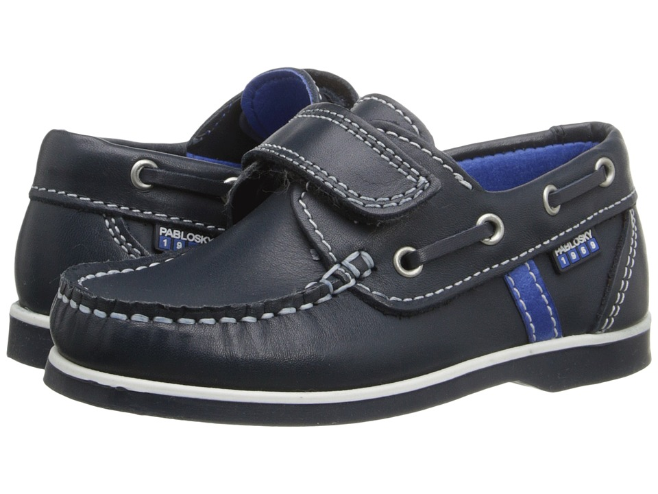 Pablosky Kids - 1201 (Toddler/Little Kid/Big Kid) (Navy) Boy's Shoes