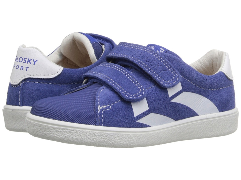 Pablosky Kids - 2580 (Toddler/Little Kid/Big Kid) (Blue) Boy's Shoes