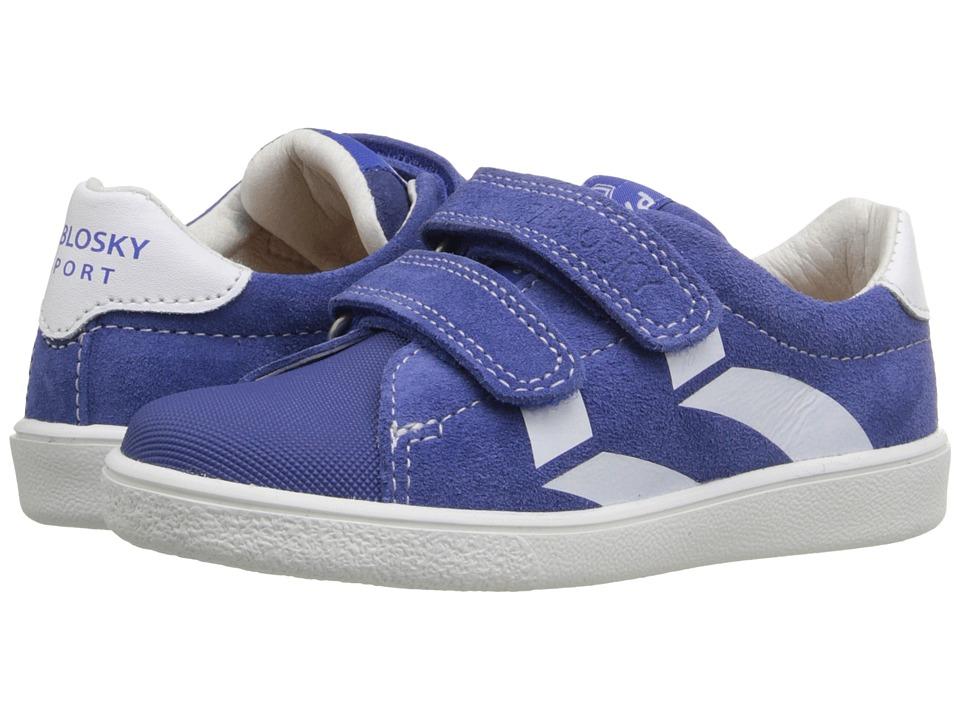 Pablosky Kids - 2580 (Toddler/Little Kid/Big Kid) (Blue) Boy's Shoes