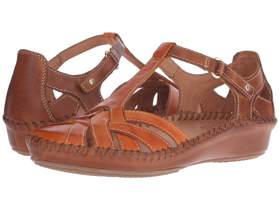 Pikolinos - Puerto Vallarta 655-0732C1 (Orange/Brandy) Women's Shoes