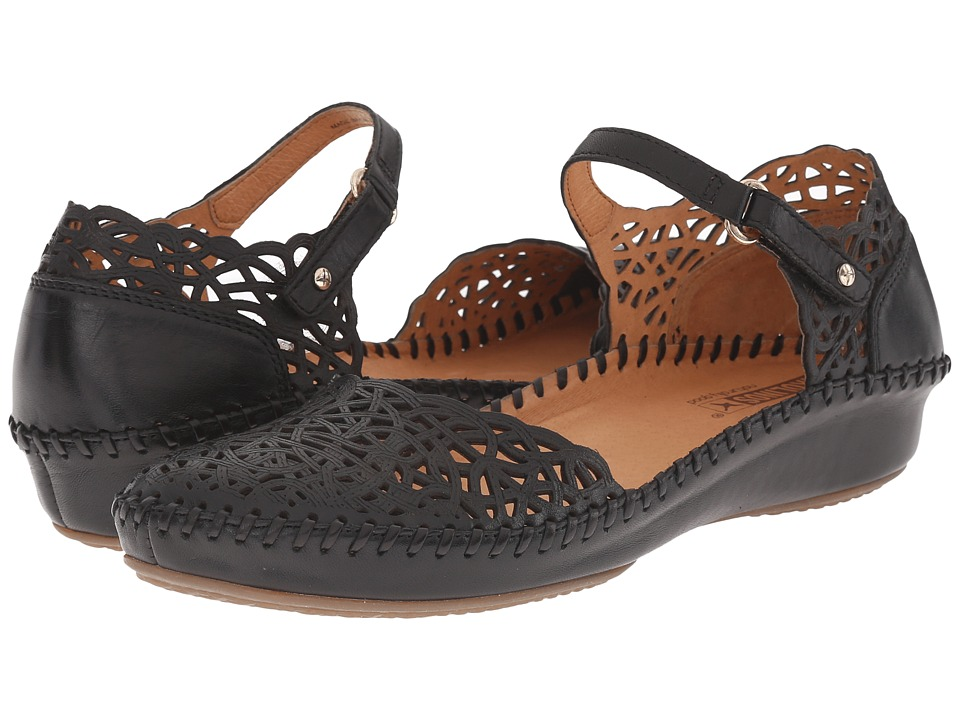 Pikolinos - Puerto Vallarta 655-1532 (Black) Women's Shoes