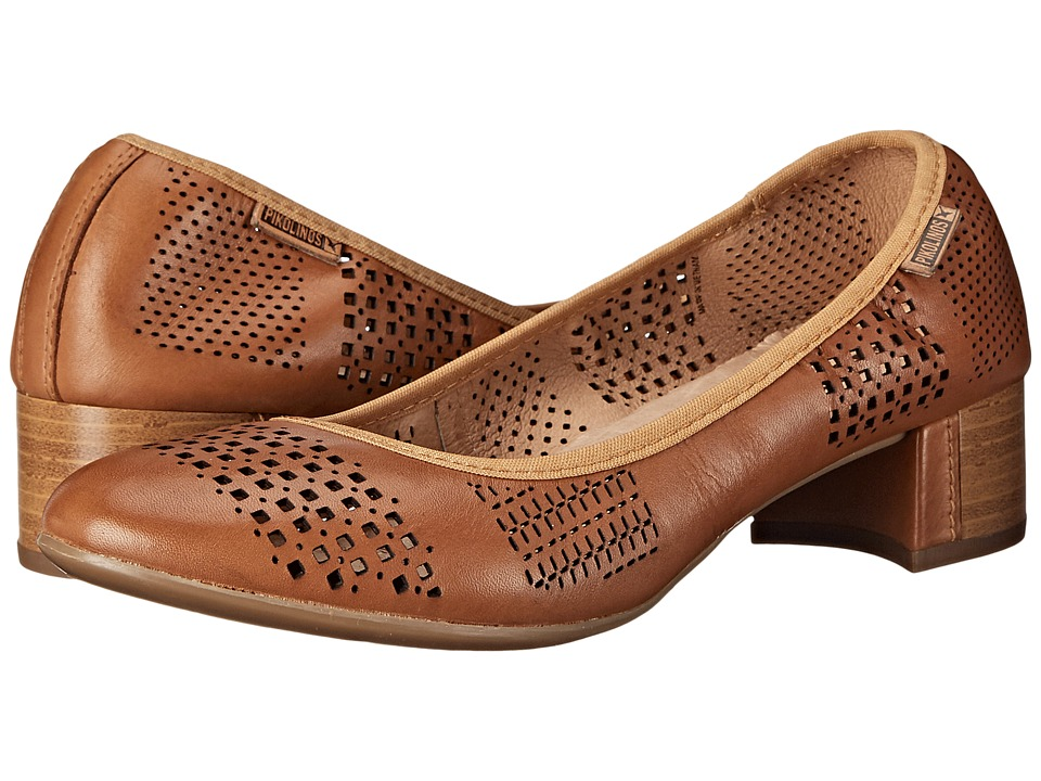 Pikolinos - Saona W8E-3589 (Brandy) Women's Slip on Shoes