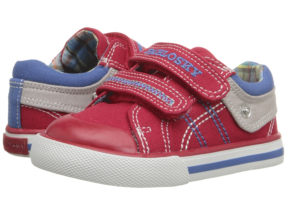 Pablosky Kids - 9308 (Toddler) (Red) Boy's Shoes