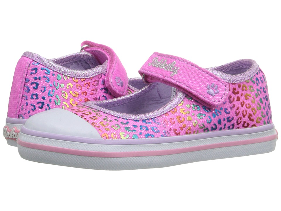 Pablosky Kids - 9320 (Toddler) (Fuchsia Glitter) Girl's Shoes
