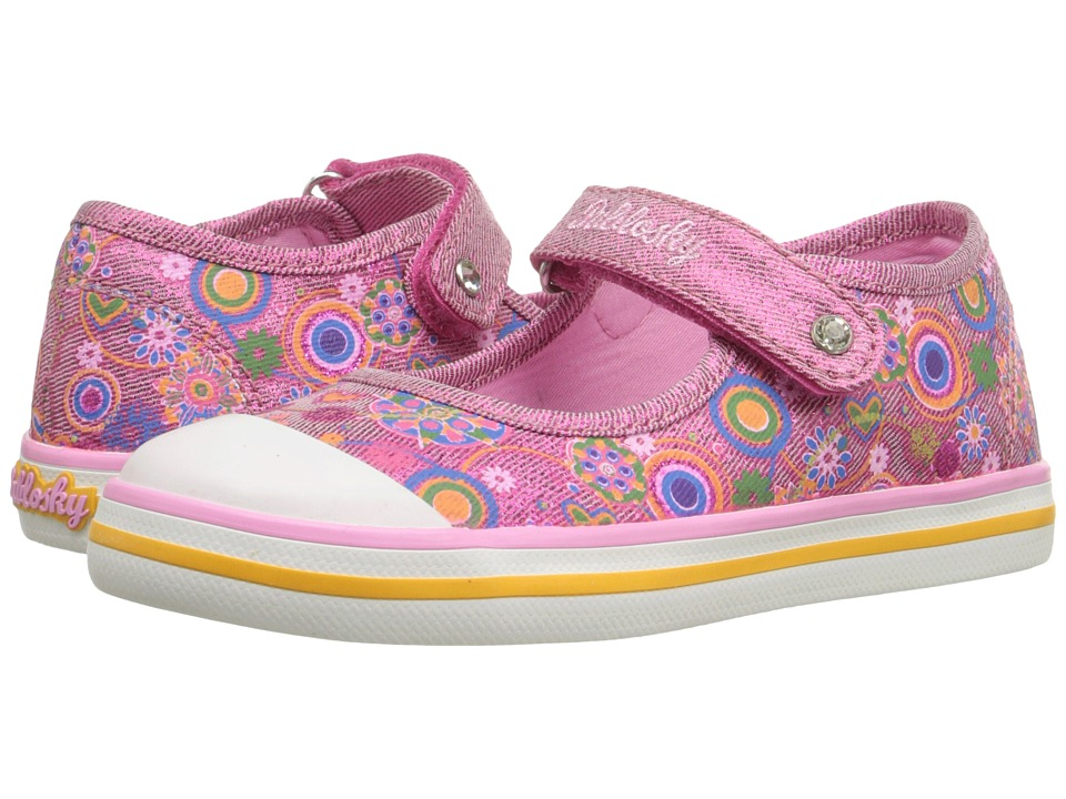 Pablosky Kids - 9310 (Toddler) (Magenta) Girl's Shoes