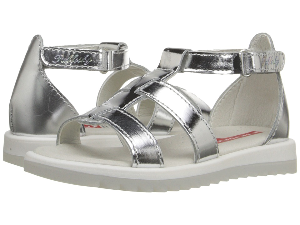 Pablosky Kids - 4279 (Toddler/Little Kid/Big Kid) (Silver) Girl's Shoes