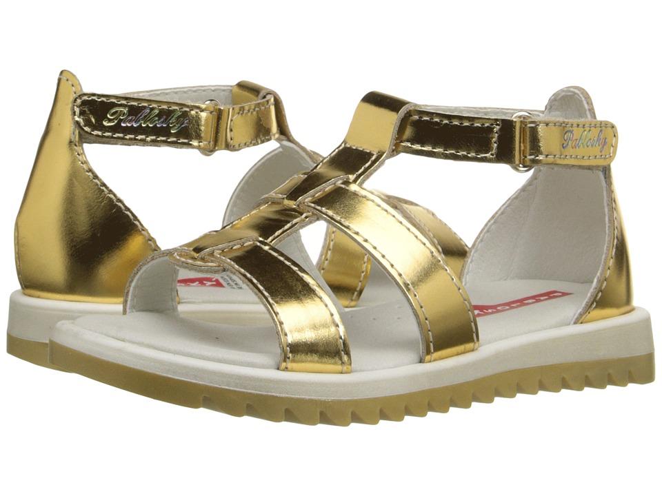 Pablosky Kids - 4279 (Toddler/Little Kid/Big Kid) (Gold) Girl's Shoes