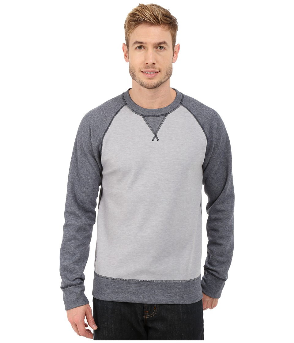 The North Face - Slacker Crew (TNF Light Grey Heather/TNF Dark Grey Heather) Men's Sweatshirt