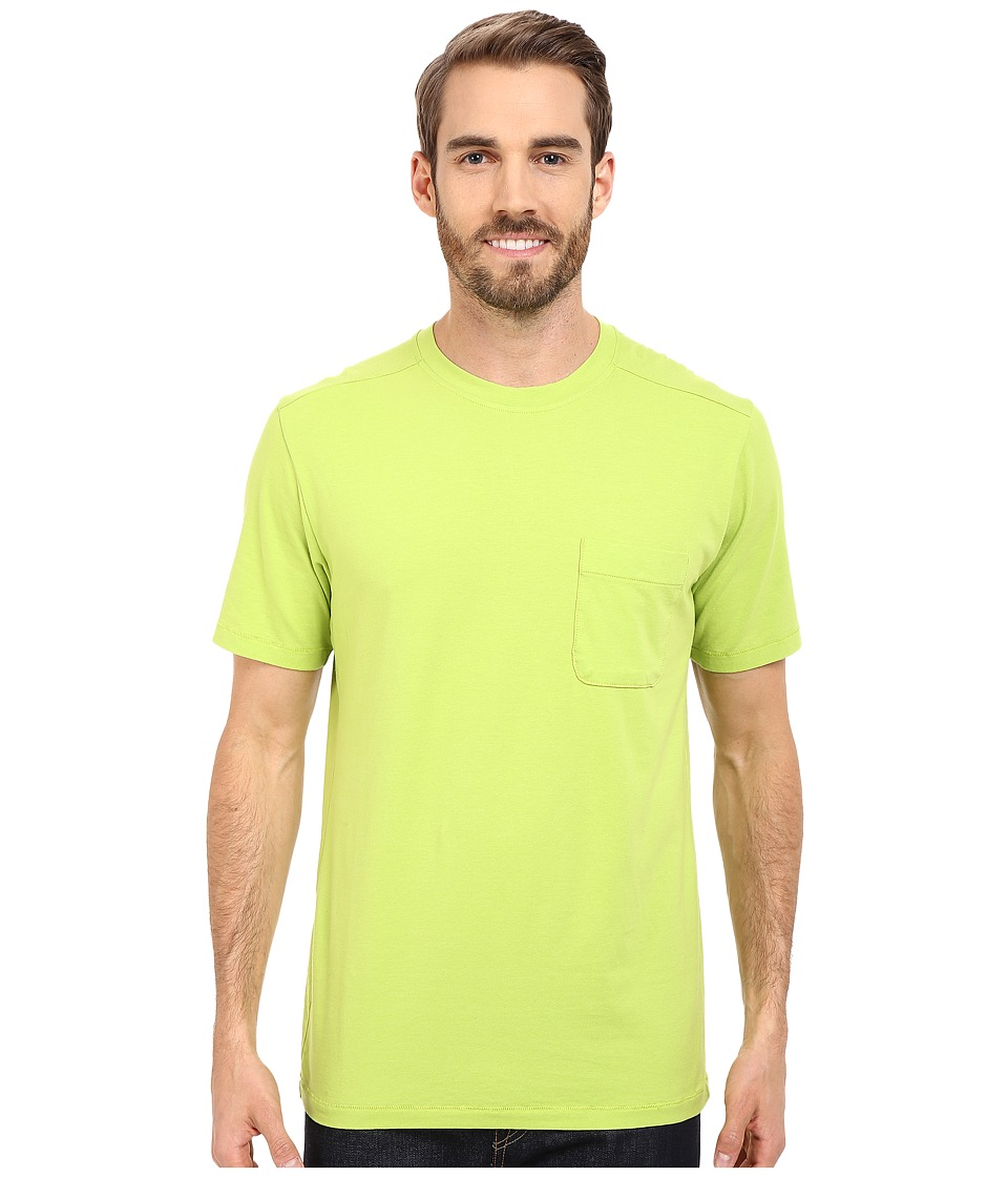 The North Face - Short Sleeve Alpine Start Tee (Macaw Green) Men